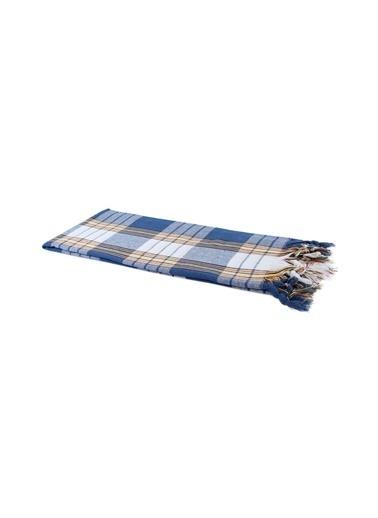 Bedinn N 80 X 175 Cm Pamuk Ipliği Yıkanabilir Klasik Peştemal Mavi